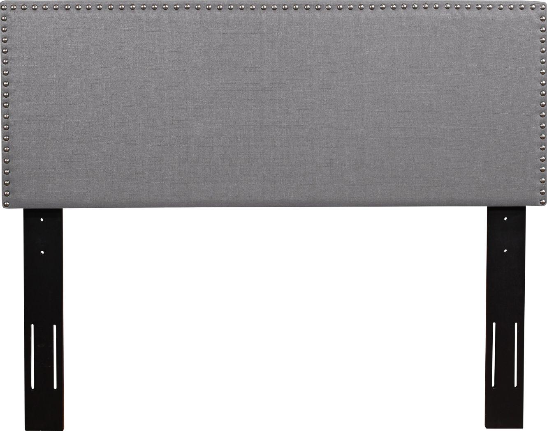 Charnwood Gray Full/Queen Upholstered Headboard