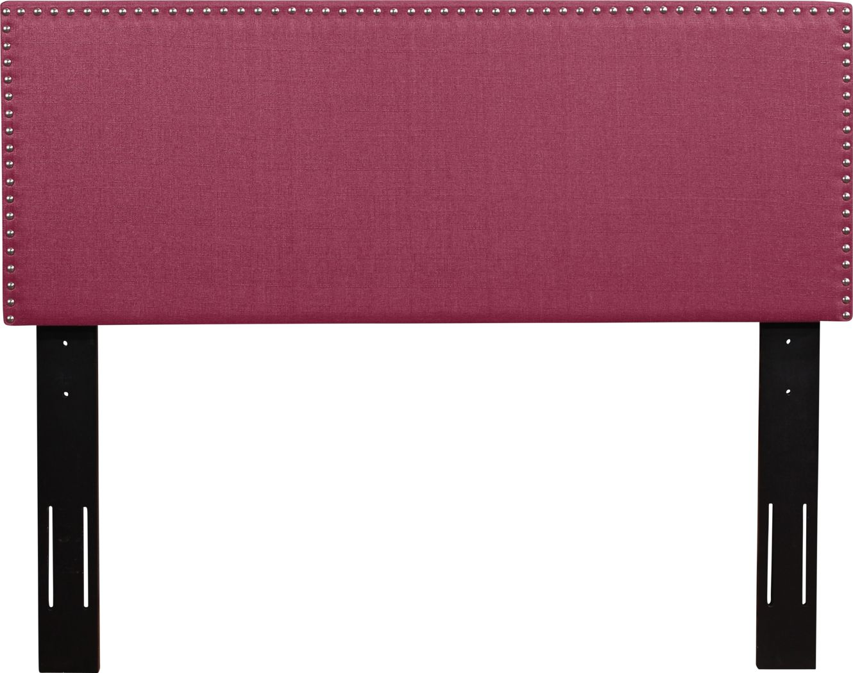 Charnwood Pink Full/Queen Upholstered Headboard
