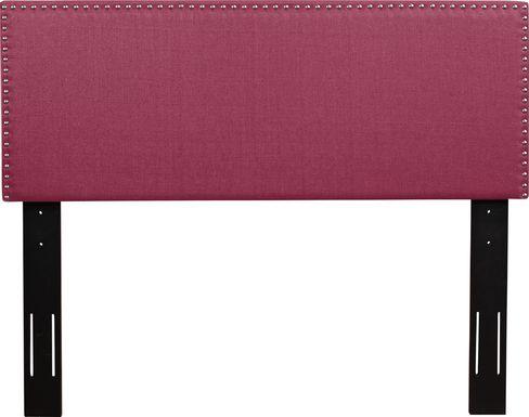 Charnwood Pink King Upholstered Headboard
