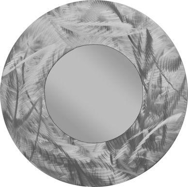 Charol Silver Mirror