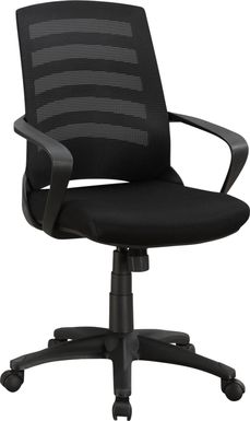 Chasefield Black Desk Chair