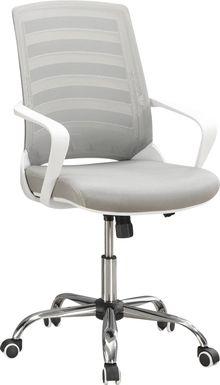 Chasefield White Desk Chair