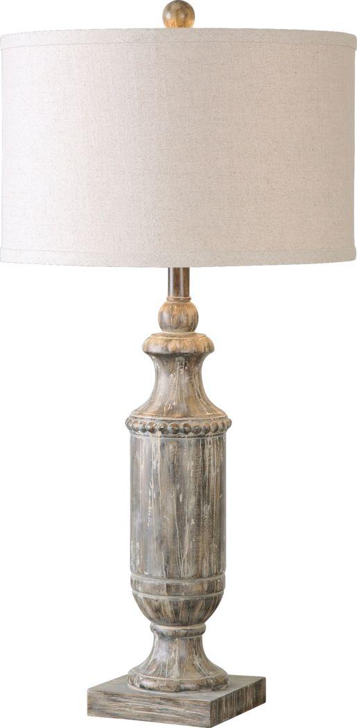Chasworth White Lamp
