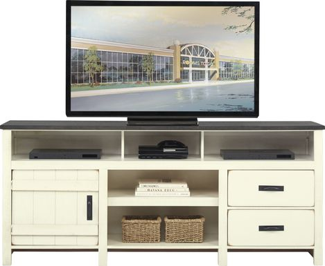 Chattanooga II White 76 in. Console