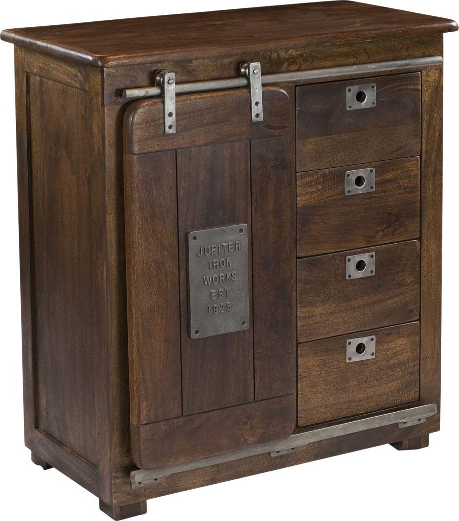 Chelveston Brown Accent Cabinet