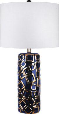 Chentelle Blue Lamp