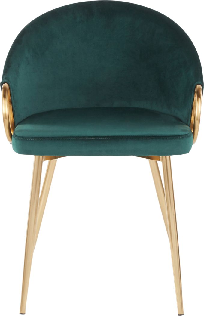Cherlyn Green Side Chair