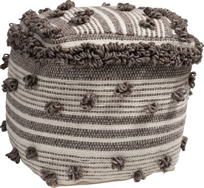 Chessington Brown Pouf