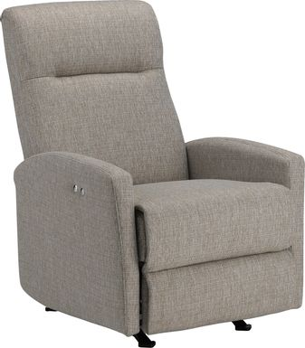 Cheswold Beige Power Recliner
