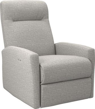 Cheswold Light Gray Power Recliner
