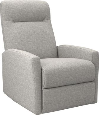 Cheswold Light Gray Rocker Recliner