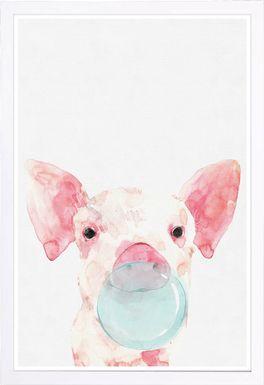 Chewing Sweetness II Pink Artwork