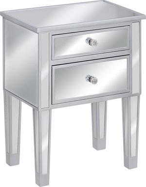 Chickerling Silver Nightstand