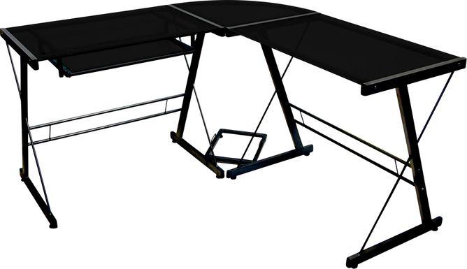 Childerlee II Black Desk