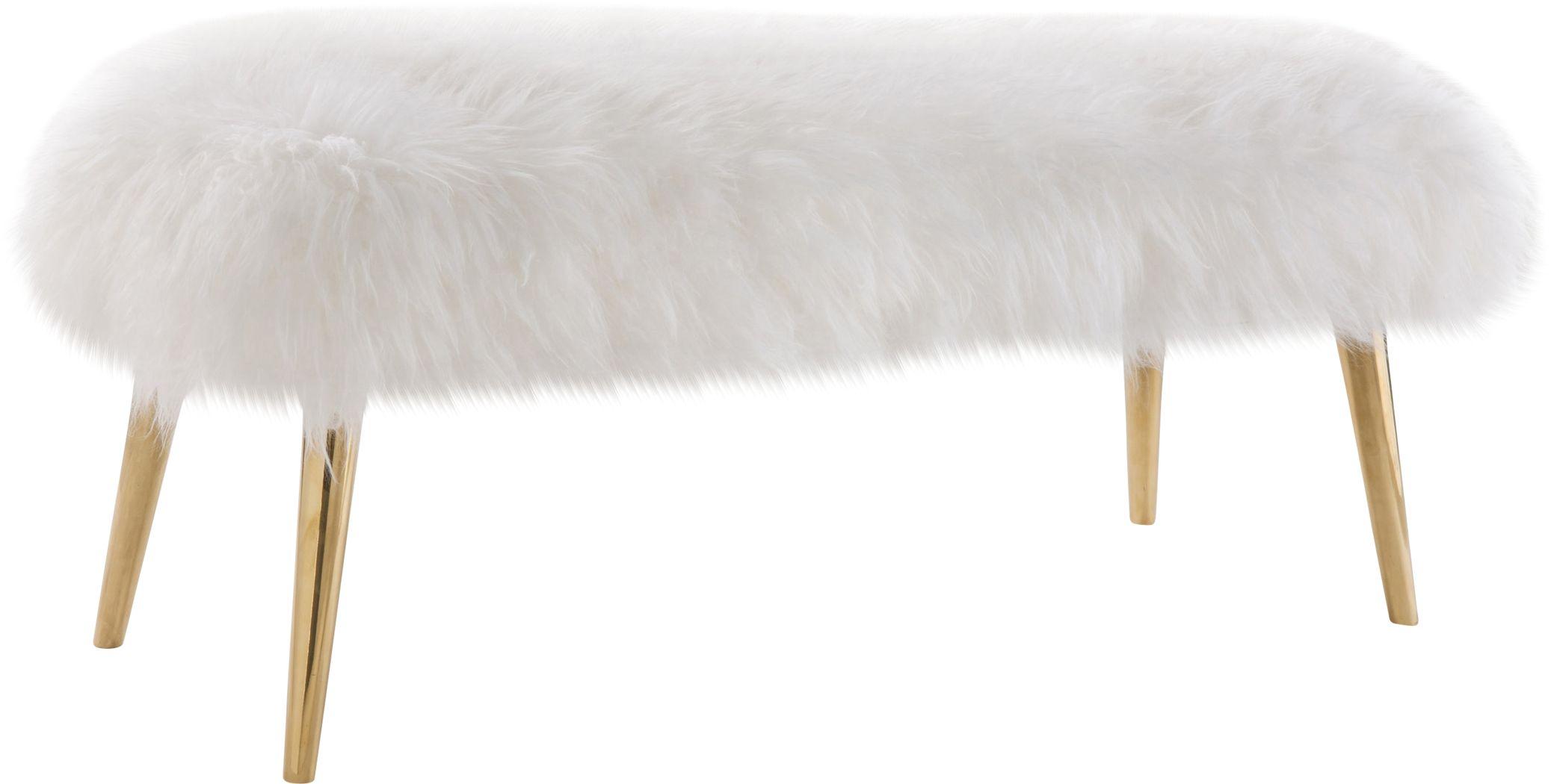 Churra White Bench