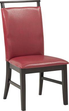 Ciara Red Side Chair
