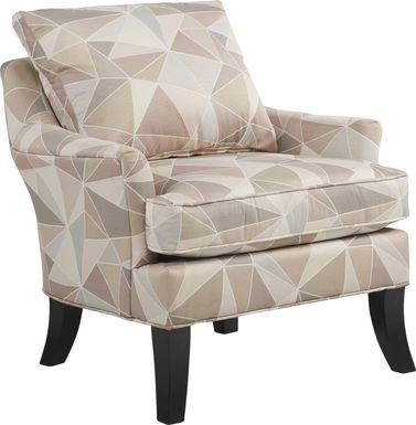 Cindy Crawford Home Aldyn Beige Accent Chair