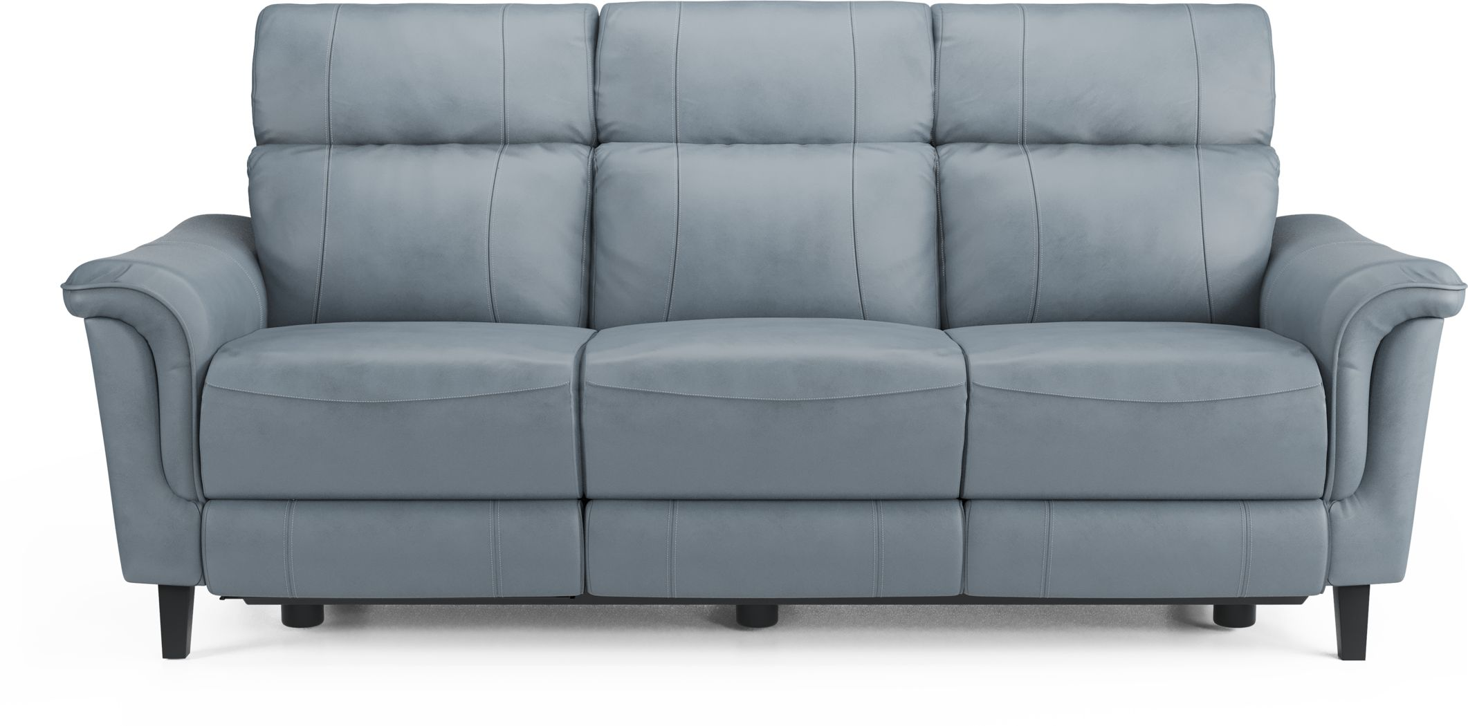 Blue Leather Sofas Couches