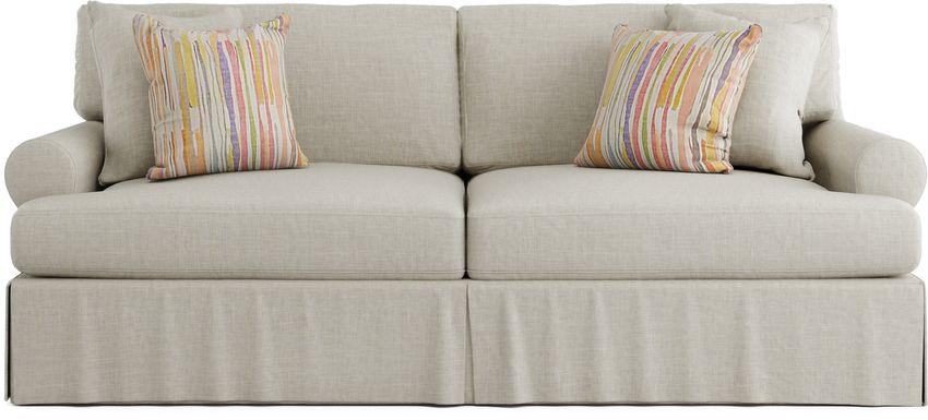 Cindy Crawford Home Beachside Walk Linen Textured Sofa