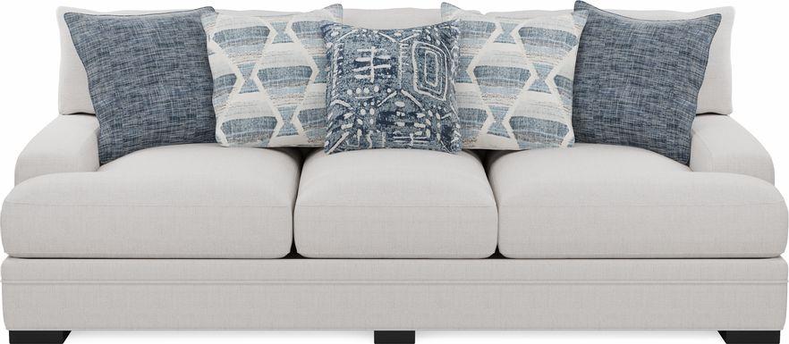 Cindy Crawford Home Bedford Park Ivory Sofa