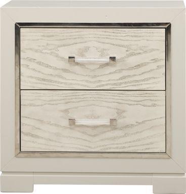 Cindy Crawford Home Bel Air Ivory Nightstand