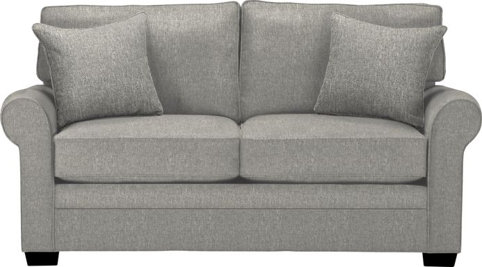 Cindy Crawford Home Bellingham Gray Textured Loveseat