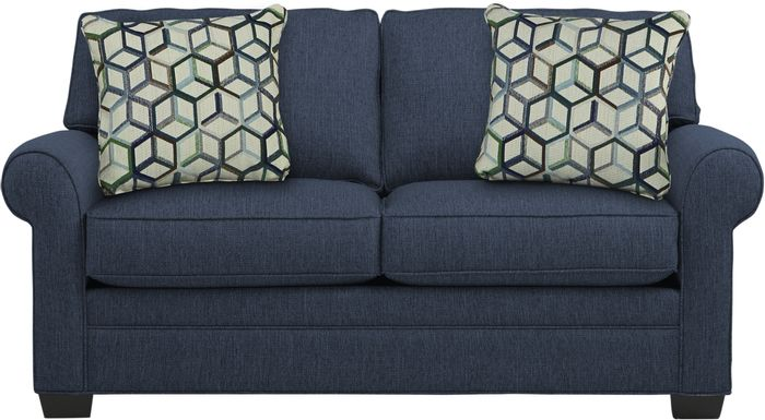 Cindy Crawford Home Bellingham Midnight Textured Loveseat