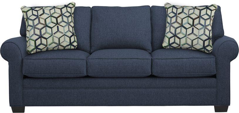 Cindy Crawford Home Bellingham Midnight Textured Sofa