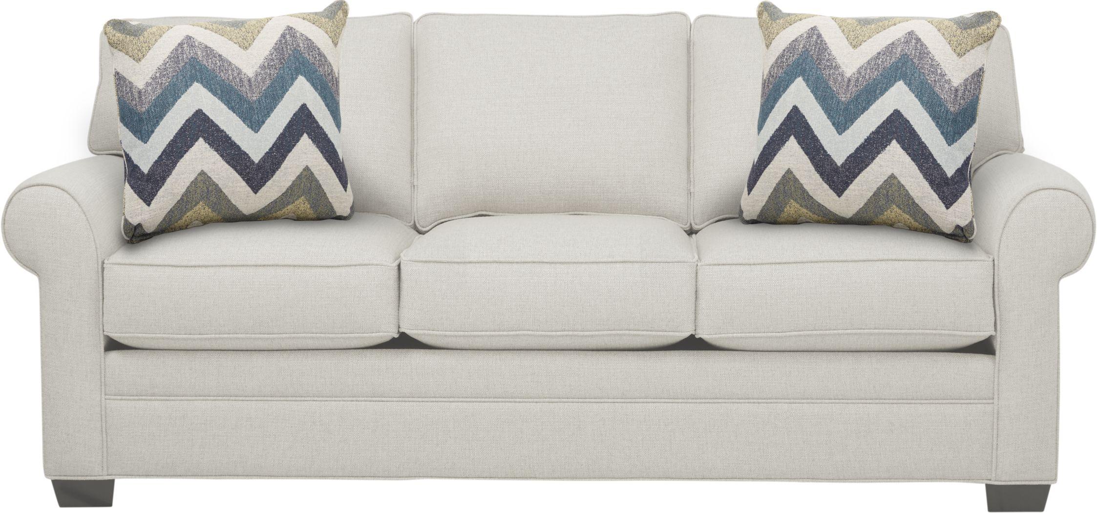 Cindy Crawford Home Bellingham Off-White Textured Gel Foam Sleeper