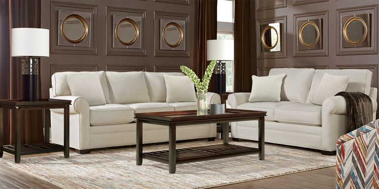 Cindy Crawford Home Bellingham Sand Textured 5 Pc Living Room
