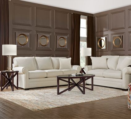 Cindy Crawford Home Bellingham Sand Textured 7 Pc Living Room