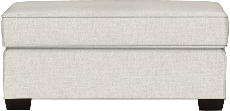 Cindy Crawford Home Bellingham Sand Textured Ottoman