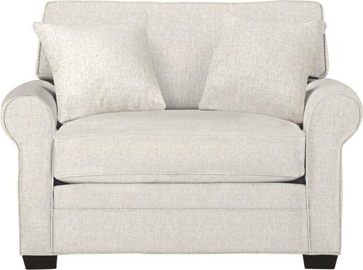 Cindy Crawford Home Bellingham Sand Textured Sleeper Chair