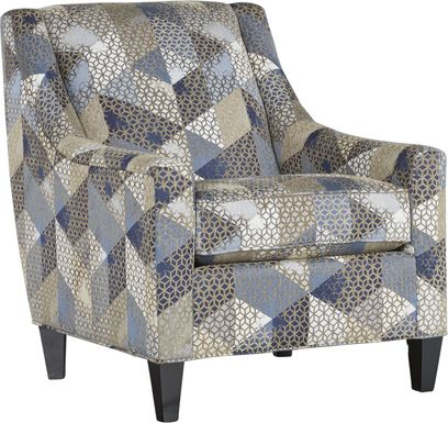 Cindy Crawford Home Beverlywood Navy Accent Chair