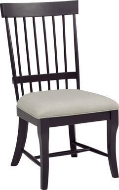 Cindy Crawford Home Cape Cottage Black Side Chair