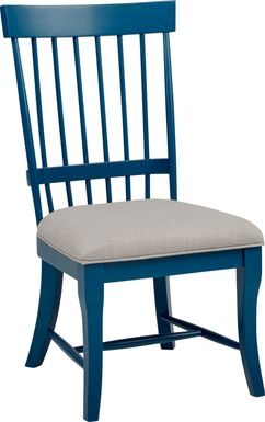 Cindy Crawford Home Cape Cottage Blue Side Chair