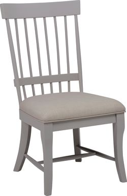 Cindy Crawford Home Cape Cottage Gray Side Chair