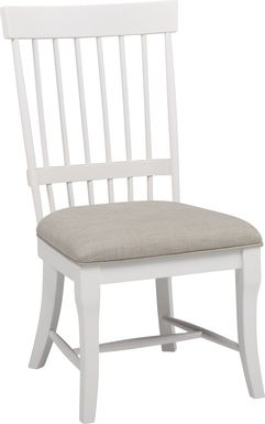 Cindy Crawford Home Cape Cottage White Side Chair