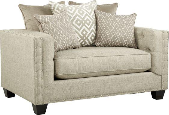 Cindy Crawford Home Chelsea Hills Beige Chair