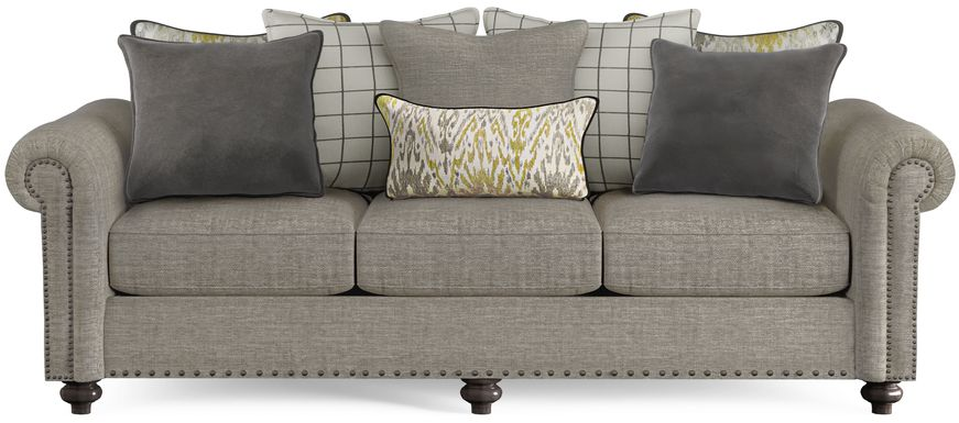 Cindy Crawford Home Greenwich Pointe Gray Sofa