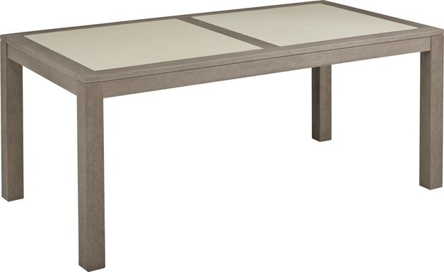 Cindy Crawford Home Lake Tahoe Gray Rectangle Outdoor Dining Table