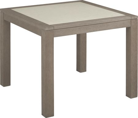Cindy Crawford Home Lake Tahoe Gray Square Outdoor Dining Table