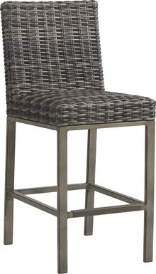 Cindy Crawford Home Montecello Gray Outdoor Barstool