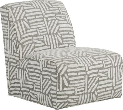 Cindy Crawford Home Monterey Park Off-White Accent Chair
