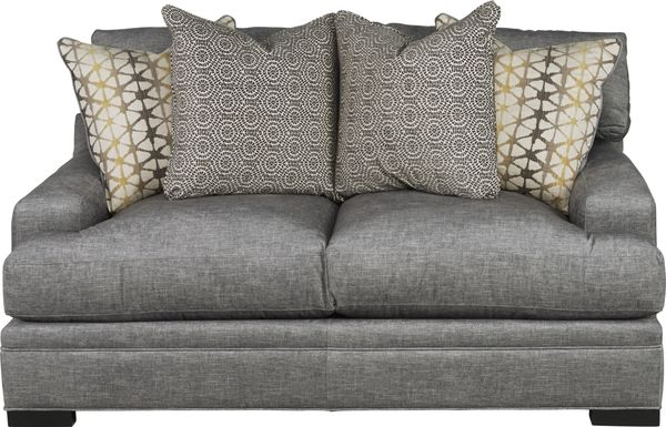 Cindy Crawford Home Palm Springs Gray Apartment Sofa