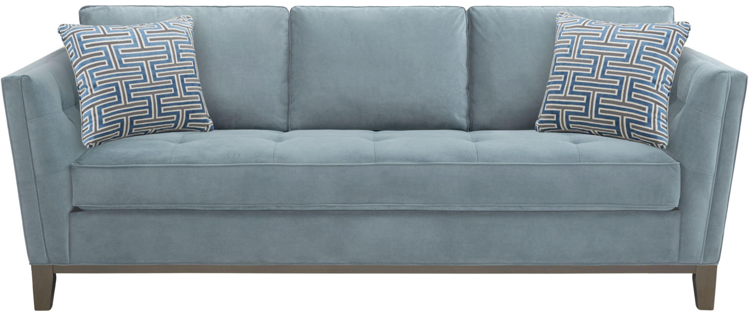 Cindy Crawford Home Park Boulevard Ocean Plush Sofa