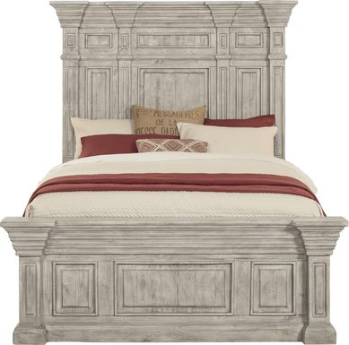 Cindy Crawford Home Pine Manor Gray 3 Pc Queen Panel Bed