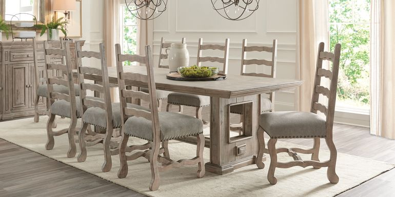 Cindy Crawford Home Pine Manor Gray 5 Pc 102 in. Dining Room