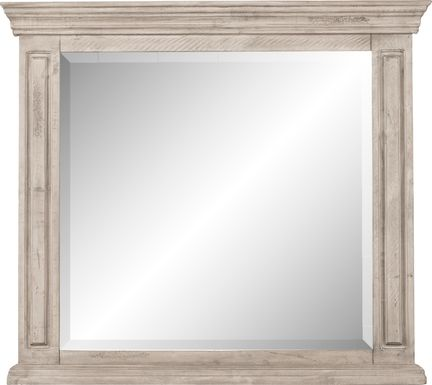 Cindy Crawford Home Pine Manor Gray Mirror