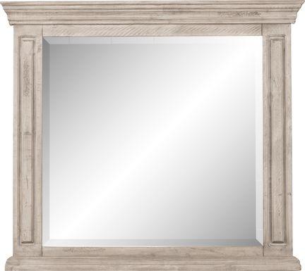 Cindy Crawford Home Pine Manor Gray Mirror